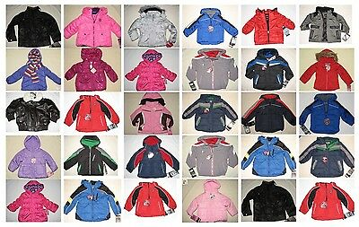NWT 35 Infant Todder Boy Girl Winter Outerwear Jackets Resale Lot NEW 12m-6/6X