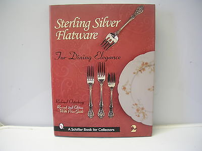 Collector's Book Sterling Silver Flatware Richard Osterberg Schiffer 2nd Edition