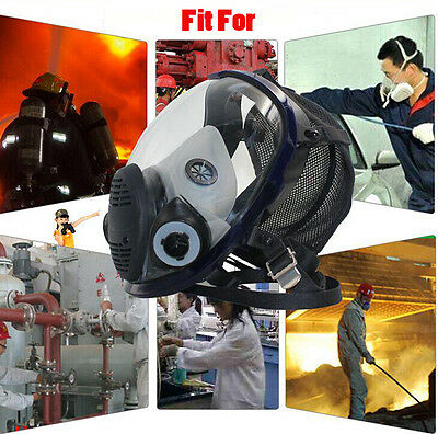 US Full Face Facepiece Respirator Suit Painting Spraying Same For 6800 Gas Mask