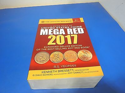 Whitman 2017 MEGA RED Guide Book of United States Coins 2nd Ed Yeoman,1500 pages
