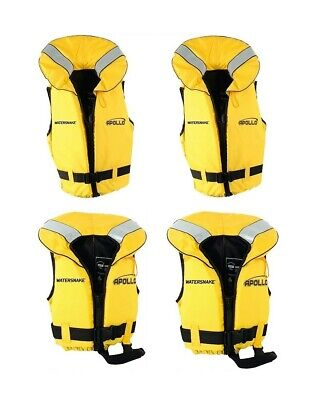 2 X Watersnake Apollo Adult or Child Life Jackets - Red Level 100 PFDs