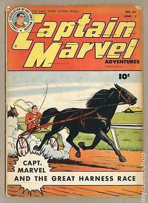 Captain Marvel Adventures (1941) #62 VG 4.0