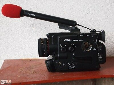 Super 8 Film camera (Clay) Yashica Sound 50XL Macro (rather fast mint)