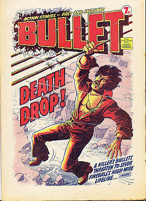 BULLET Comic - Issue 5 - Date 13/03/1976 - UK Paper Comic