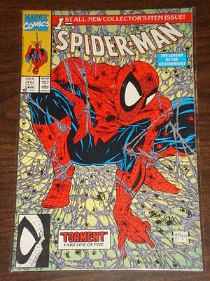 Spiderman #1 Vol1 Marvel Comics Spidey Green Cvr August 1990