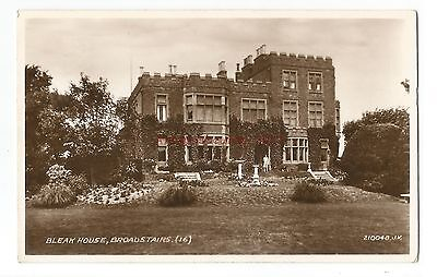Dorset Bournemouth Beacon Private Hotel Real Photo Vintage