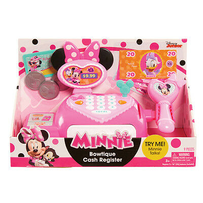 Disney Minnie's Happy Helpers Bowtique Cash Register NEW
