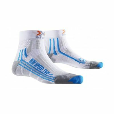 X-Socks Run Speed Two Lady Sportsocken Damen Laufsocken weiß blau