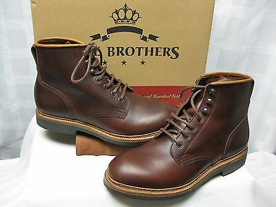 Pike Brothers Brown Leather  Service Boots  Size 10 Medium  EUR 43 NIB