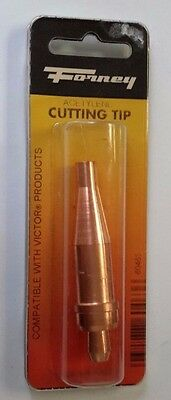 Forney Acetylene Cutting Tip Size 1-1-101 Compatible W/ Victor  -B310