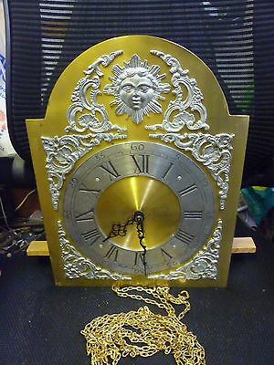 Kieninger Grandfather Clock 3 Weight Westminster Chime Movement Dial And Gong