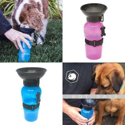 Auto Dog Mug Dog Puppy Travel Water Bottle Feed Water Pet Supply Portable