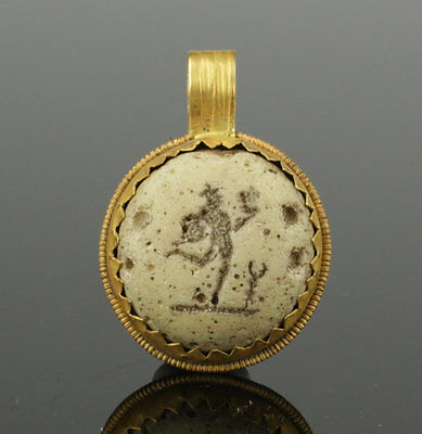 Ancient Roman Gold Pendant 2Nd Ad