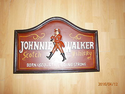 Johnnie Walker  Werbeschild Wanddekoration