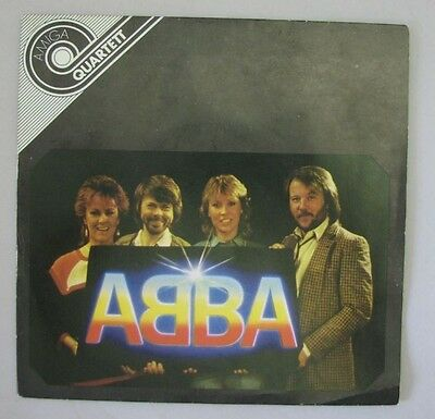 "ABBA Super Trooper, One of Us 45 rpm 7"" single Rare East Germany Amiga"