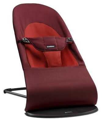 New BABYBJORN Balance Soft Bouncer Baby Infant Seat Rust/Orange