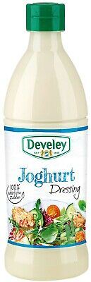 (1000ml=4,98€) Develey Salatliebe - Joghurt Dressing - Salatdressing - 500 ml