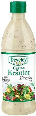(1000ml=4,98€) Develey Salatliebe - Kräuter Dressing - Salatdressing - 500 ml