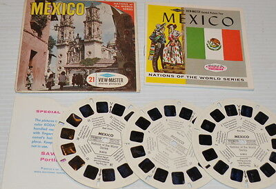 - MEXICO VIEW-MASTER Reels with Packet B-001 -