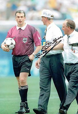 Jack CHARLTON SIGNED COA Autograph Photo 1 AFTAL Republic of Ireland Manager