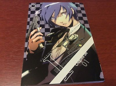 Loot Crate Anime Exclusive Persona 3 Manga Vol. 1 Book Paper Back