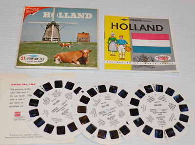 - HOLLAND VIEW-MASTER Reels with Packet B-190  -