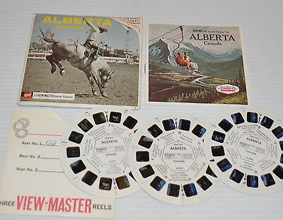 - ALBERTA, CANADA VIEW-MASTER Reels with Packet A-009 -