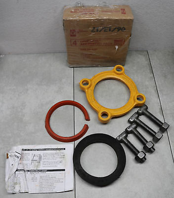 "Romac Industries 4"" Ductile Iron Pipe Grip Ring Accessory Pack Made in USA"