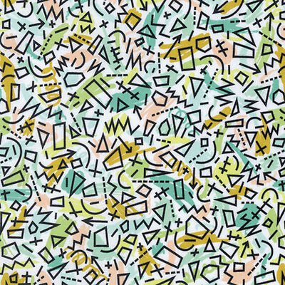 Erin McMorris PWEM092 Intermix Quimby Leaf Cotton Fabric By The Yard