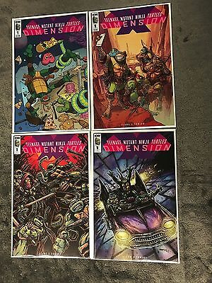 Tmnt Dimension X #1 1:20,10 Variant Set Teenage Mutant Ninja Turtles Comic 8/2