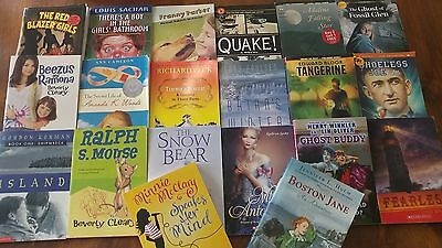 Lot 20 ALL SCHOLASTIC Chapter Books ACCELERATED READER AR 3.4 to 6.2 TEACHER RL