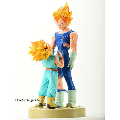 "Dragon Ball Z MAJIN VEGETA TRUNKS 6"" Toy Figure Figurine NEW"
