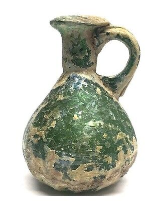 Ancient Roman glass Jug