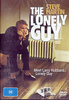 THE LONELY GUY Steve Martin DVD Region Free - New / Sealed - PAL
