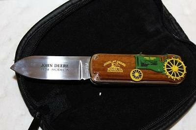 MINT John Deere 1934 A Folding Pocket Knife Franklin Mint FM