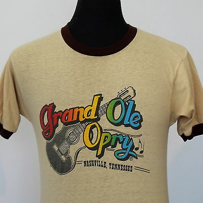 vintage 80s GRAND OLE OPRY soft thin T SHIRT medium COUNTRY