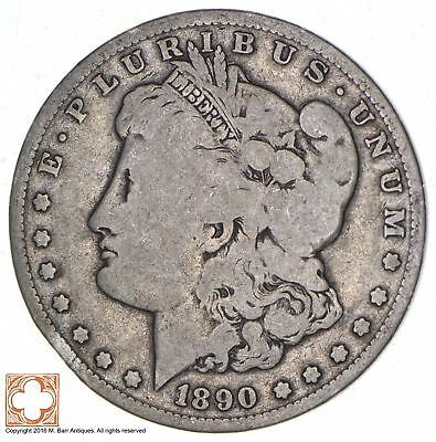 New Orleans Minted - Over 100 Years Old - 1890-O Morgan Silver Dollar *917