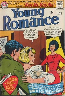 Young Romance Comics (1963-1975 DC) #139 GD/VG 3.0 LOW GRADE