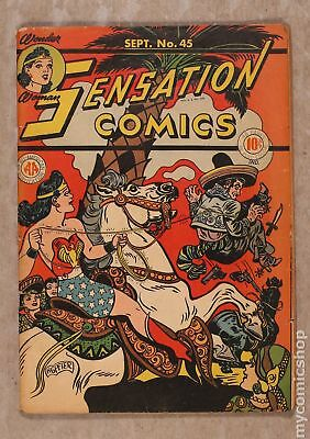 Sensation Comics (1942) #45 GD+ 2.5
