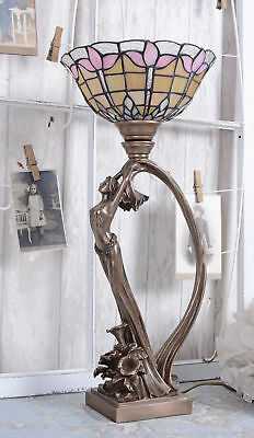 Table Lamp Secession Light Art Nouveau Female Figure Lamp Table Luminaire
