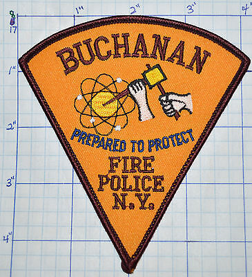 New York, Buchanan Fire Police Dept Patch