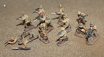 Built/Painted 1/72: New Zealand Infantry Figures - North Africa WWII