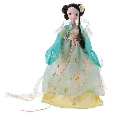 28cm Flexible 10 Joints Costume Vinyl Kurhn Dolls Chinese Style Toy Collectibles