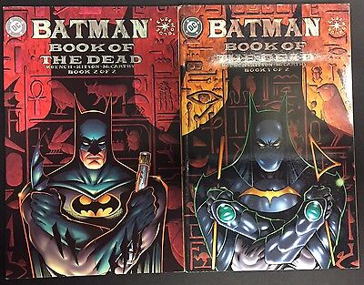BATMAN - BOOK OF THE DEAD 1 & 2 - DC Comics / Elseworlds