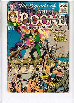 Legends of Daniel Boone 2 strict VG- 4.0 1955  Rookie Rangers New Ton O Westerns