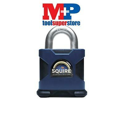 Henry Squire SS80S SS80S Stronghold Solid Steel Padlock 80mm CEN6 Boxed