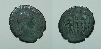 ANCIENT ROME :  BRONZE COIN - 4th Century A.D. (#8)