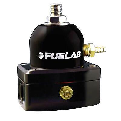 Fuelab EFi Fuel Regulator High Pressure - 10 JIC Inlets Black - 515xx Series