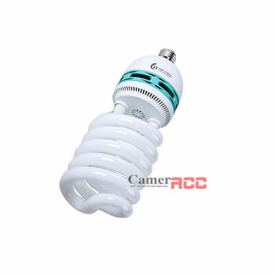 125W Photo lighting studio Daylight Spiral light Bulb 5400k E27 230V