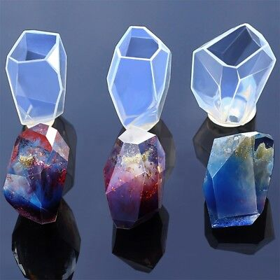 DIY Clear Silicone Mold Making Pendant Resin Casting Mould Craft Jewelry Tools